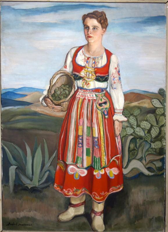 """""""la Cueillette des Figues de Barbarie"""" PORTUGAL vers 1940"""