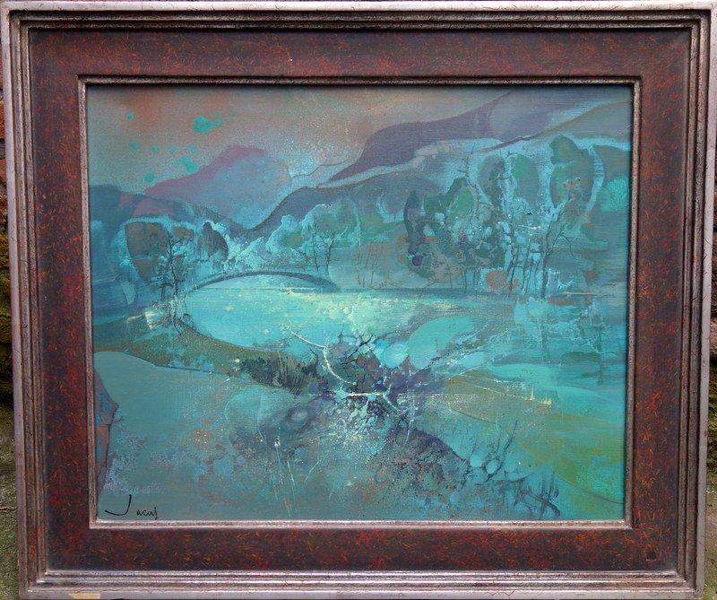 """""""Soleil Vert"""" par Théobald JACUS vers 1970/75"""