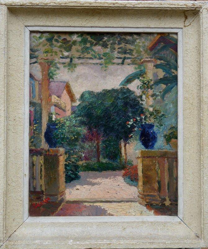 """""""La Pergola """" par Ferdinand SCOSSA vers 1920"""