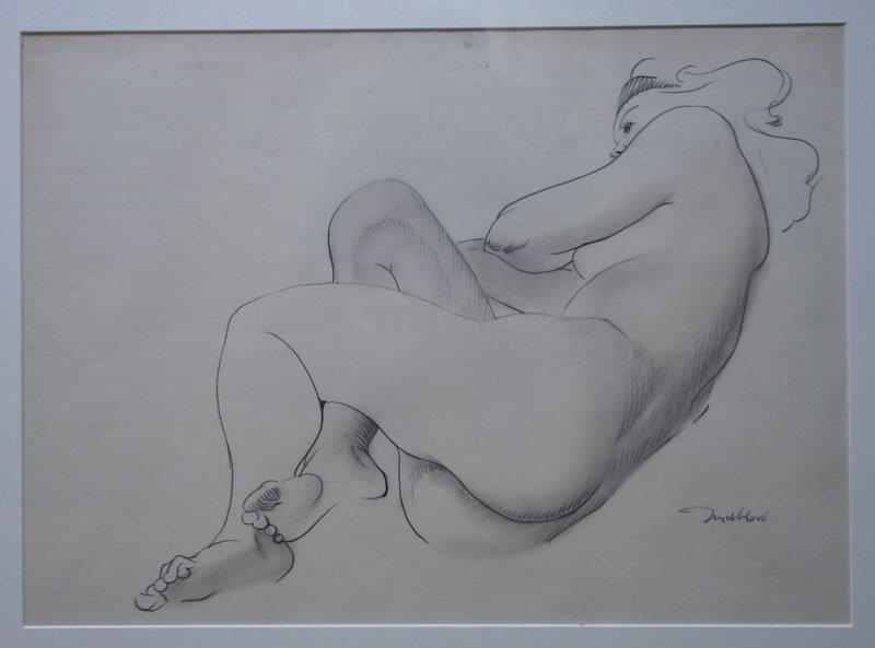 """""""Nu de Femme"""" par Jean MABLORD vers 1960/70"""