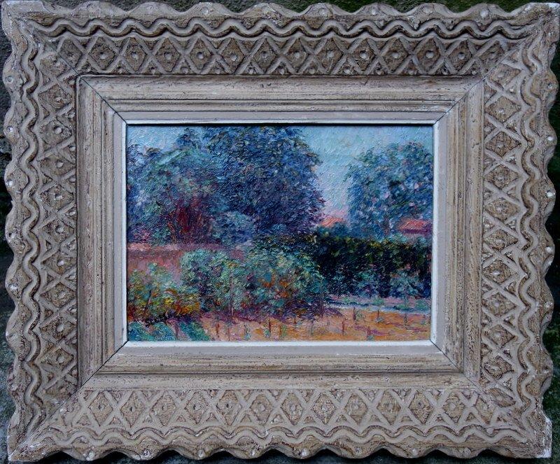 """Jardin Potager"" par Ferdinand SCOSSA vers 1920"