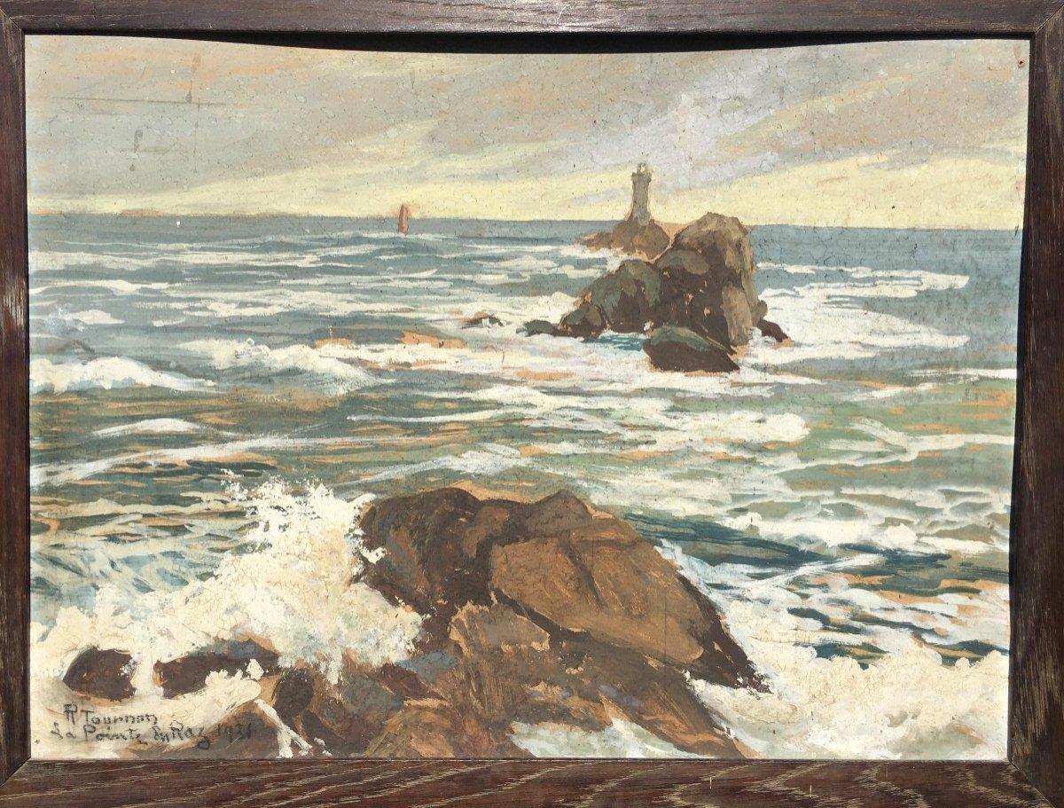 """La Pointe du Raz"" par Raymond TOURNON ...BRETAGNE 1931"