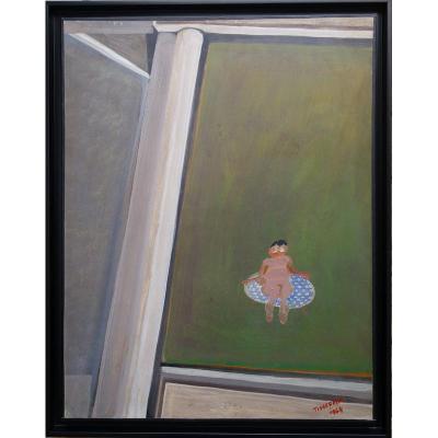 """La Nudiste"" par Gérard TISSERAND ....1964"