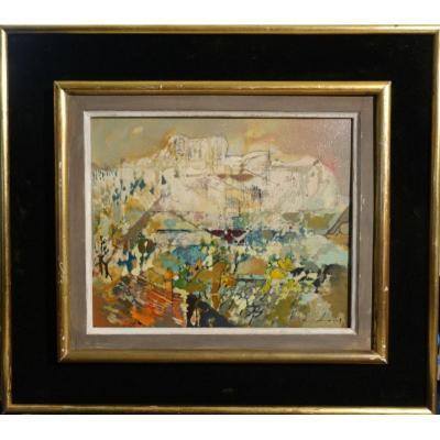 """""""PEILLON en Provence"""" par Théobald JACUS ..1960"""