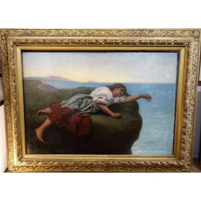 """melancolie"" By Léopold Durangel ... 1882"