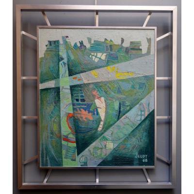 """""""façades"""" By Pierre Jeudy ... 1968"""