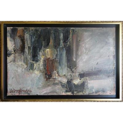 """abstraction"" By Woolfenden Around 1950/55"