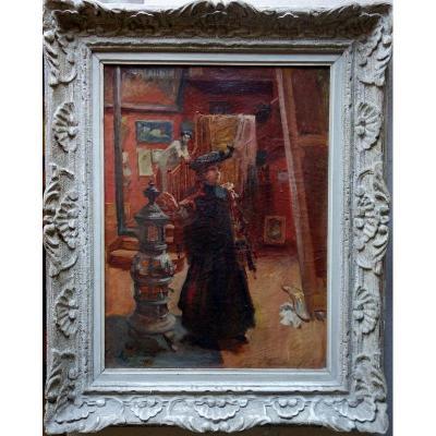 """""""mon Atelier"""" Par Roger Jammes ...1911"""