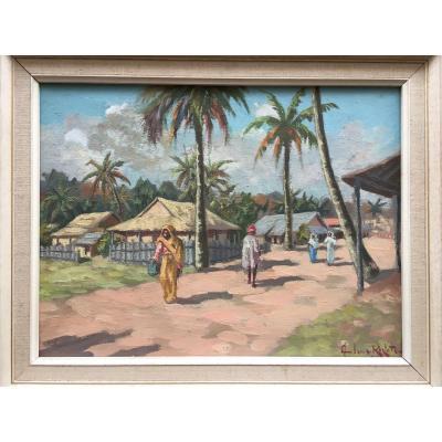 """MADAGASCAR"" par Ambroise RAKOTO ...1955"
