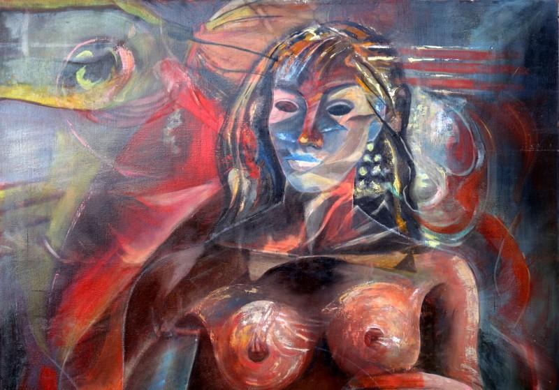 """""""FEMME"""" par J.Louis ADALHEN-MIAILHE .....1994-photo-2"""