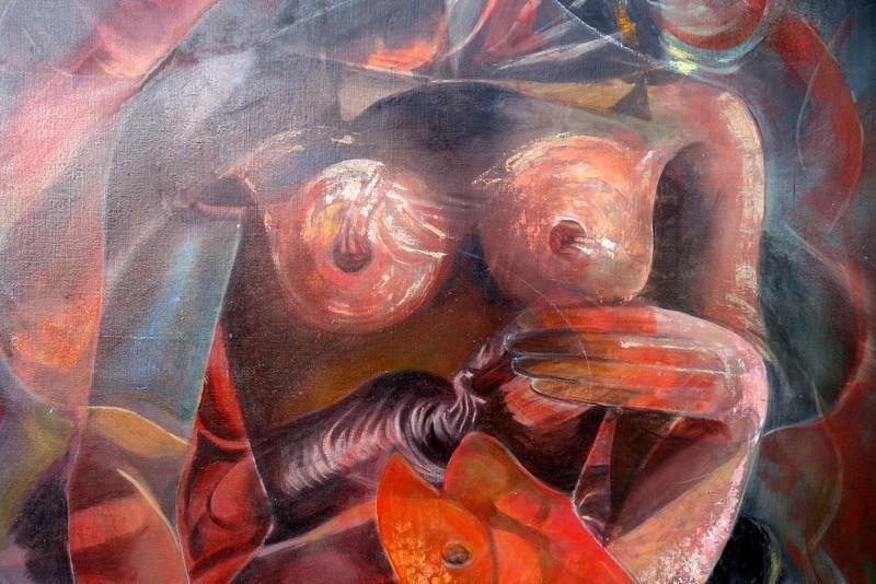 """""""FEMME"""" par J.Louis ADALHEN-MIAILHE .....1994-photo-3"""