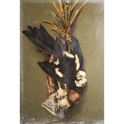 """""""Nature Morte a la PIE """" par GAY(.......) 1896"""