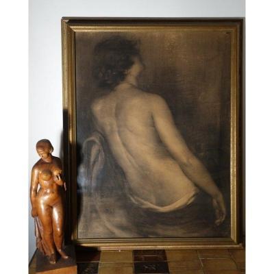 """Dos de Femme"" par Gustavo GALLARDO RUIZ....Rome 1918"