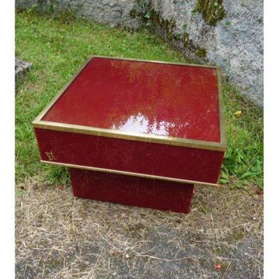 """""""coffee Table"""" By Eric Maville Circa 1970"""