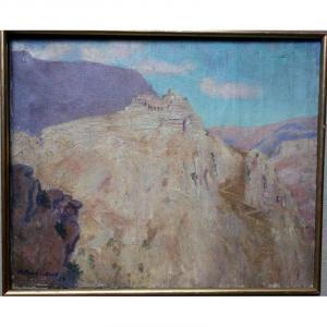 """""""GOURDON  au Soleil """" par Alfred ANDRIEUX 1921...Provence"""