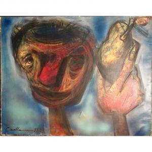 """""""La Téte Expressionniste"""" par Rodolphe CAILLAUX ....1937"""