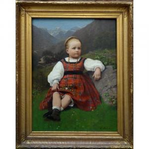 """""""La PETITE BAVAROISE"""" par Georg SAAL....1870"""