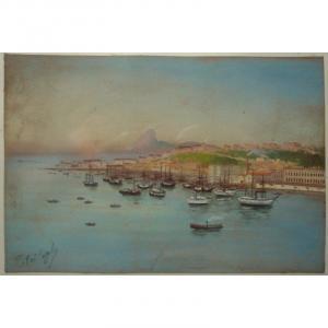"""RIO de JANEIRO "" par F. d'ORSI COPPOLA vers 1890/1900"