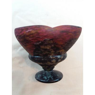 Cup In Glass  Daum Nancy