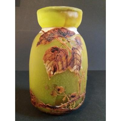 Muller Fres Luneville Vase