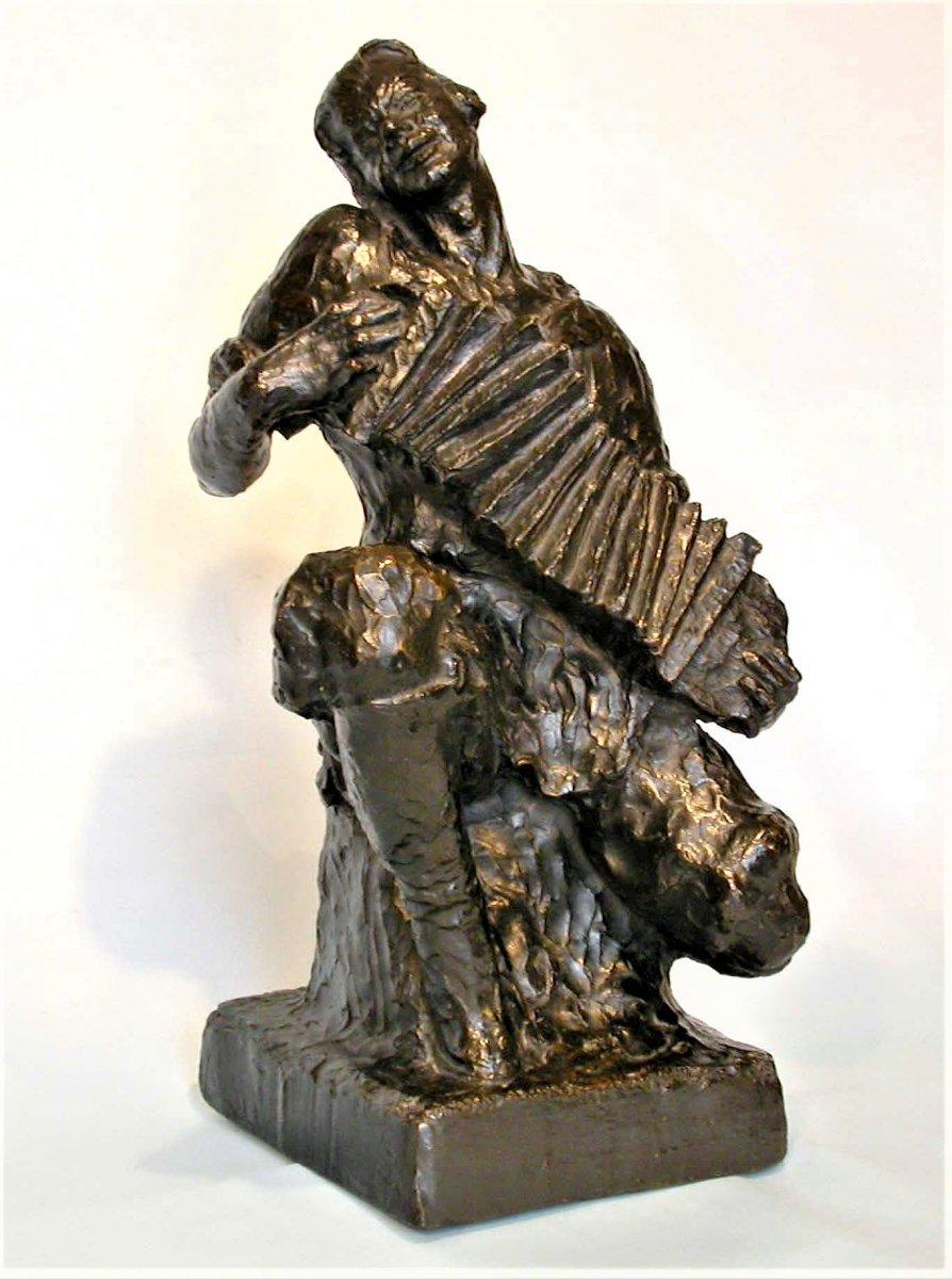 Large Bronze Sculpture By Mouradoff