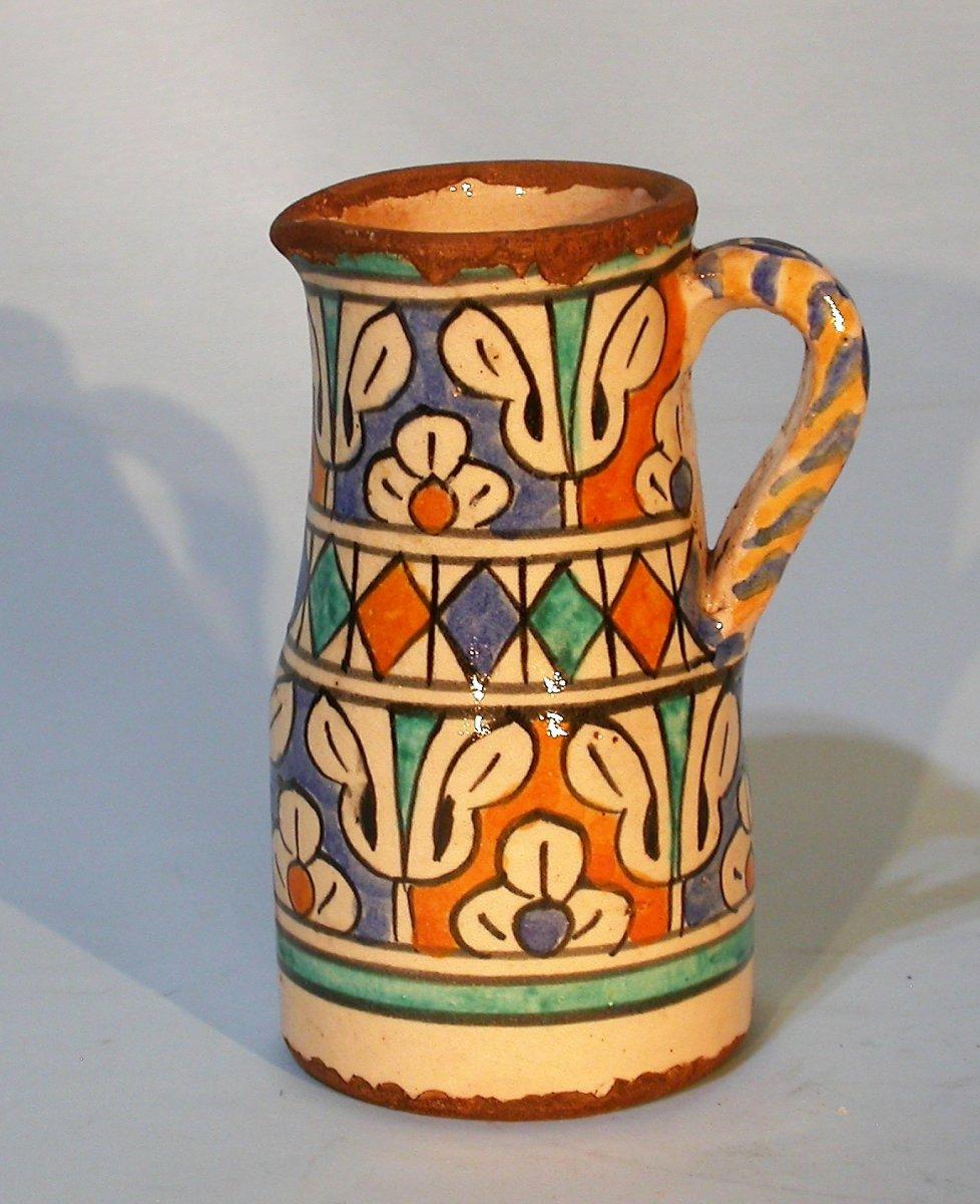 Earthenware Water Pot (ghorraf) - Morocco, XIXth Century