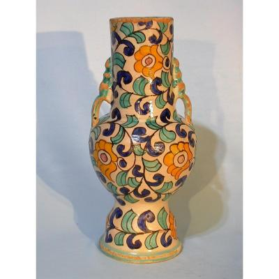 Vase In Earthenware - Morocco - Late 19th Century