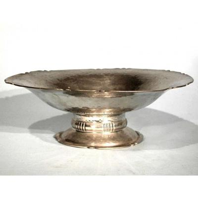 "Cup ""art Deco"" In Pewter (tin) - Holland, Circa 1930"