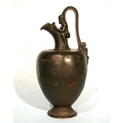 Bronze Ewer - Greece, XIX Th Century