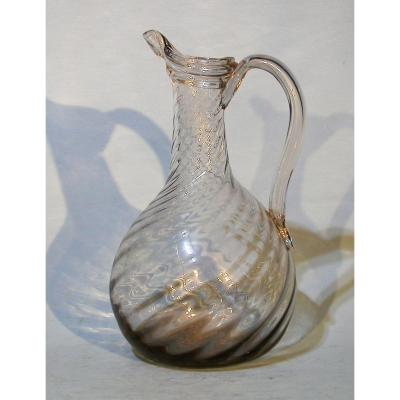Blown Glass Carafe - Normandy, XVIII Th