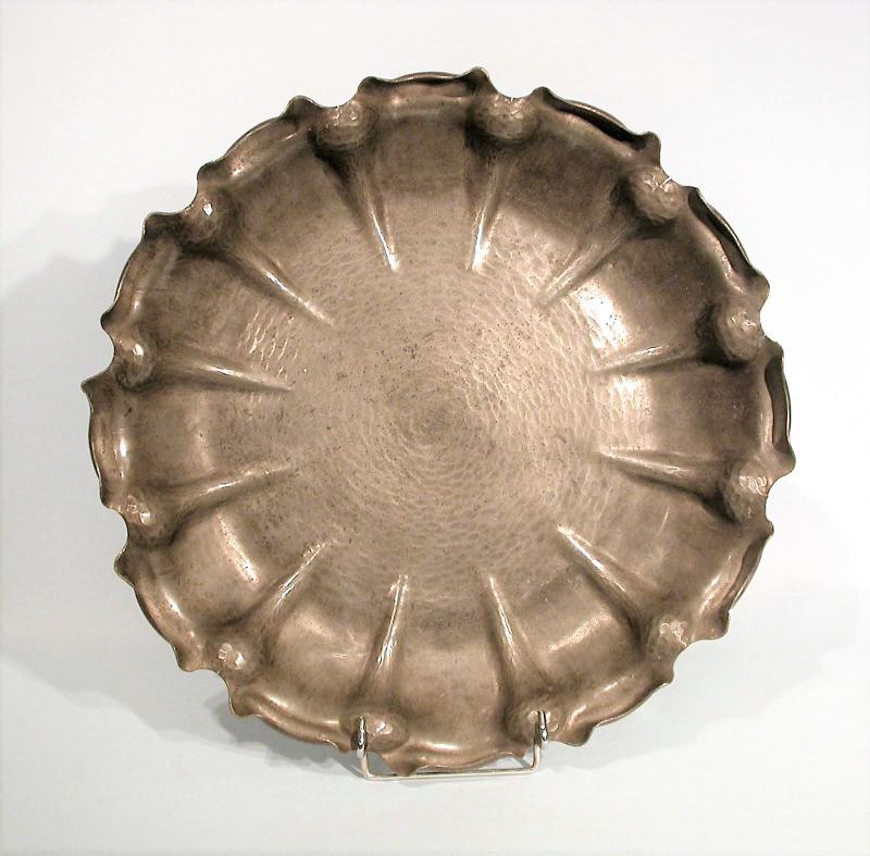 Art Deco Cup In Pewter Of Chanal - Circa 1920-photo-2