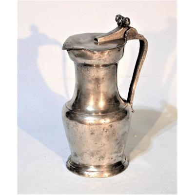 Pewter Wine Jug (tin) - Bordeaux, Late 18th Century