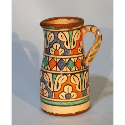 Earthenware Water Pot (ghorraf) - Morocco, XIXth Century