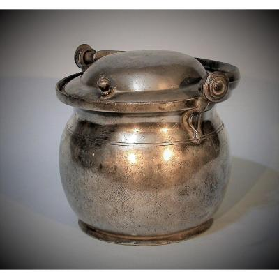 Dinner Rack In Tin (pewter) - Fontainebleau, Late XVIIIth Century