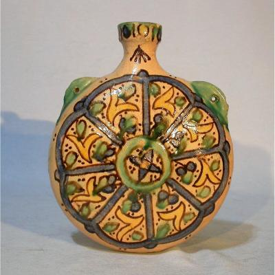 Earthenware Bottle - Morocco, Late XIXth