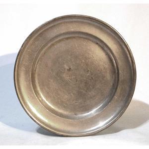 Pewter Plate - Stein Am Rhein (switzerland) - Circa 1800