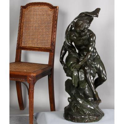 Bronze 19 éme, Signé: Mathurin Moreau 1822/1912