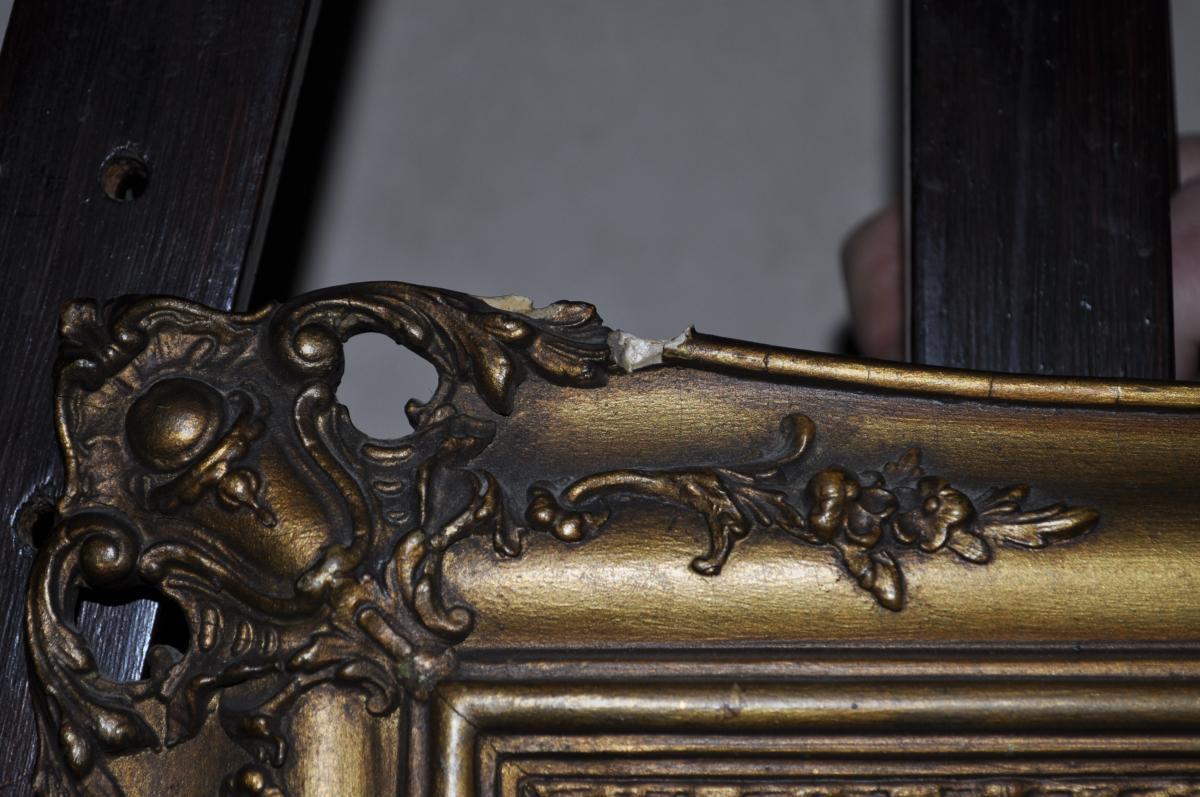 Huile Sur Panneau Début XIXème - -photo-6