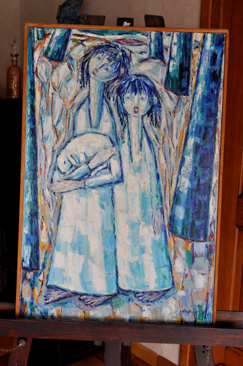Table - Hst - Puzan Godjamarian - Signed And Dated