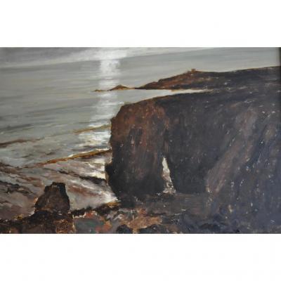 Tableau, Huile Sur Panneau , Signée Staquet Lucien 1911-1989
