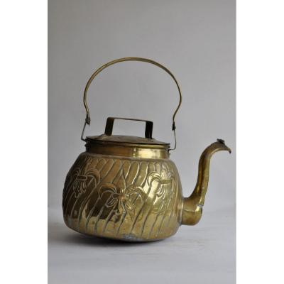 Yellow Copper Kettle - Circa 1800
