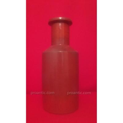 Beau Vase En Céramique Sang De Bœuf,  XXéme Siècle, Marque à Identifier...