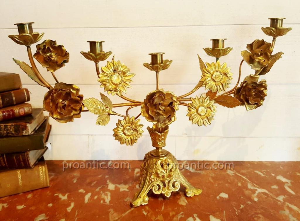 Church Altar Chandelier , 19th Century