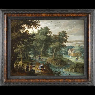 Ecole flamande du XVIIème siècle – Attribuée à Anton Mirou (