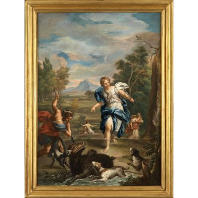 Diane chasseresse – Attribué à Giovanni Odazzi (Rome, vers 1720)