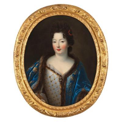Elisabeth-Charlotte d'Orléans vers 1695 – Atelier de Pierre Gobert (1662 – 1744)