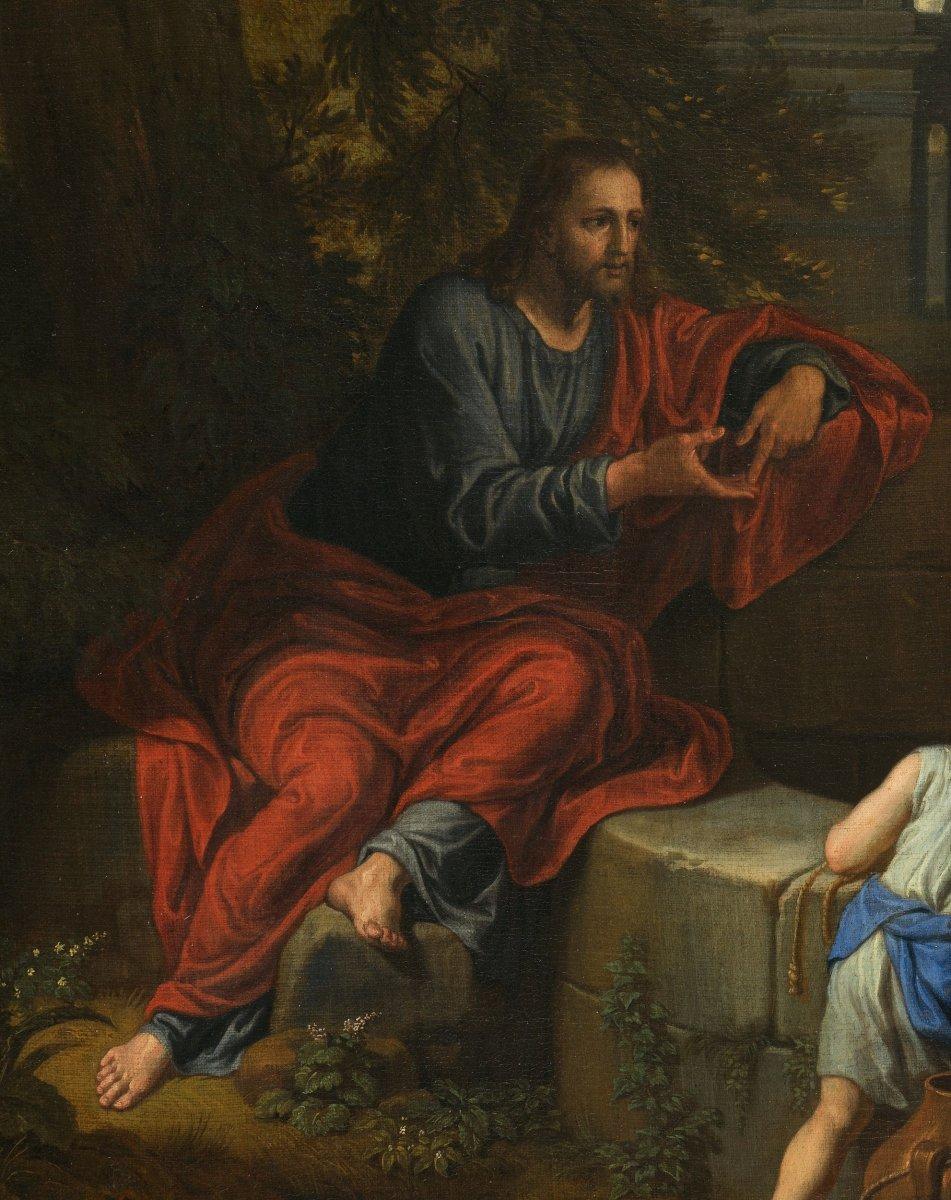 Le Christ et la Samaritaine - Michel Corneille le Jeune (1642-1708)