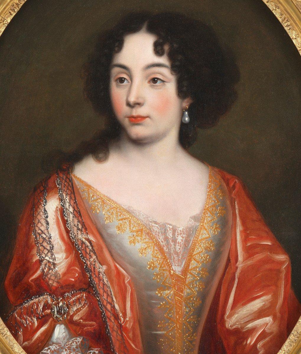 Elisabeth de Thomassin – Attribué à Henri Gascard (1635 – 1701)-photo-2