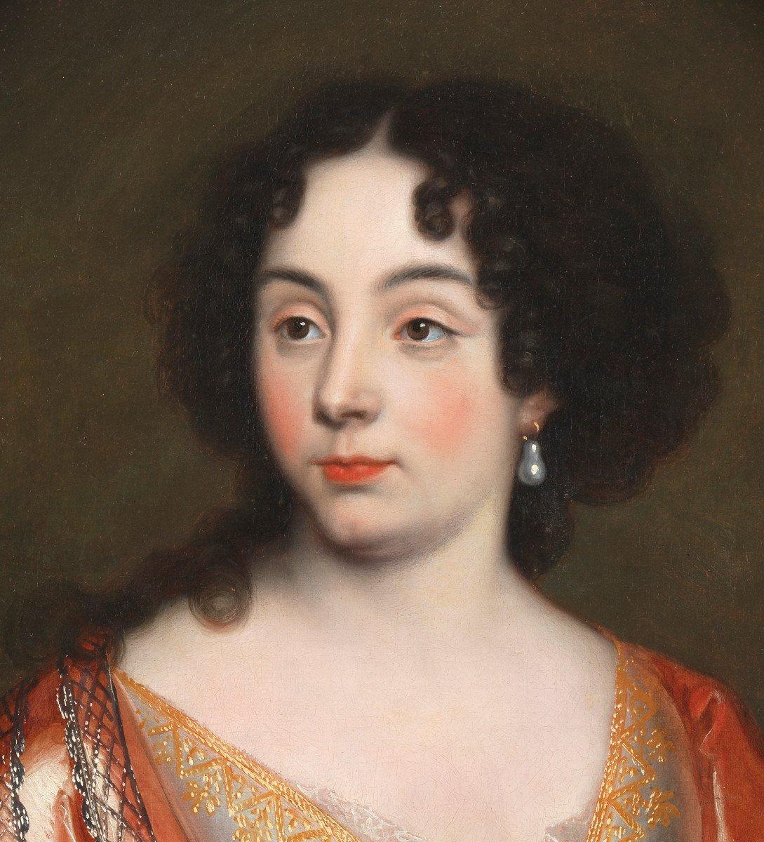 Elisabeth de Thomassin – Attribué à Henri Gascard (1635 – 1701)-photo-3