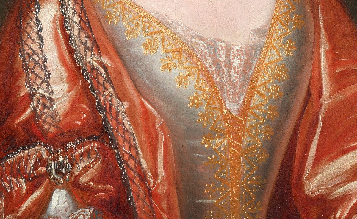 Elisabeth de Thomassin – Attribué à Henri Gascard (1635 – 1701)-photo-4